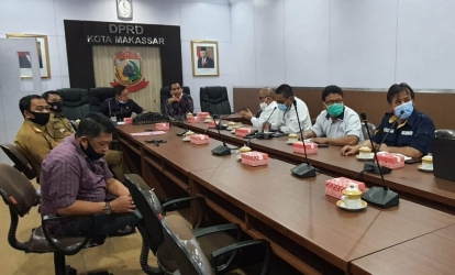Audiensi dan Pemaparan Progress Proyek Jalan Tol Layang A.P. Pettarani