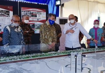 Inauguration Elevated Toll Road A.P. Pettarani Makassar