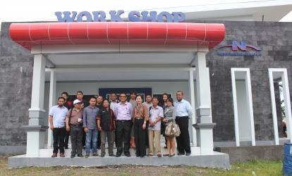 Media Visit to BMN/JTSE Toll at Makassar
